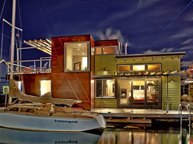 Lake Union Floating Home II