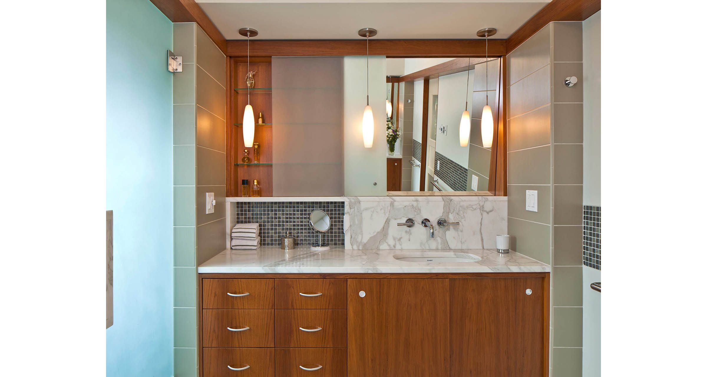 Bathroom Remodel Donnally Architects Capitol Hill Seattle - Bathroom furniture seattle