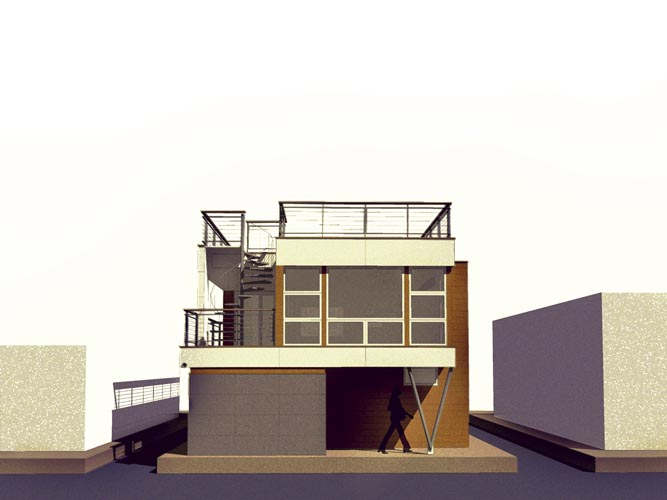 Lake Union Floating Home V